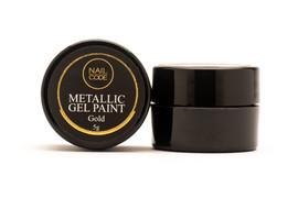 Nail Code - Light Gold Gel Paint