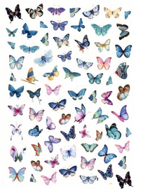 Butterfly Decals - Mix 12