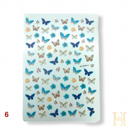 Butterfly Decals - Mix 10