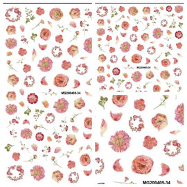 Flowers 36 -Decals