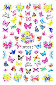 Butterfly Decal XF3326