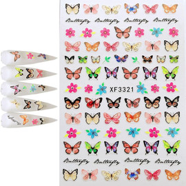 Butterfly Decal - XF3321