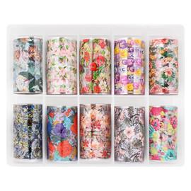 Nail art Foil Kit - Floral 3