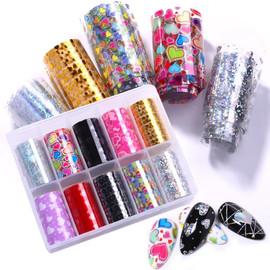 Nail Foil Kit - Hearts