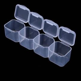 28 Compartment nail art storage case