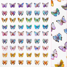 Butterfly Decals - D3700