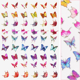 Butterfly Decals - D3710