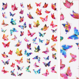 Butterfly Decals - D3714