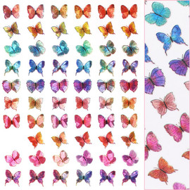 Butterfly Decals - D3709