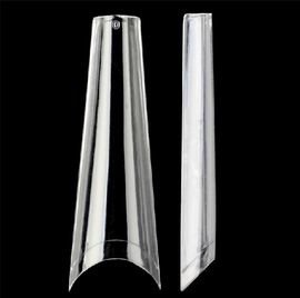 Long Coffin Tips (Clear)