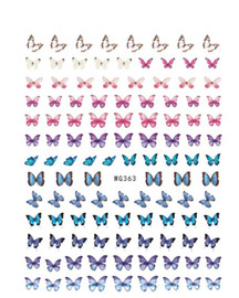 Butterfly Decals - WG363