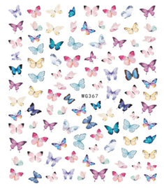 Butterfly Decals - WG3647