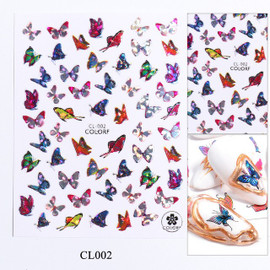 Butterfly Decals - CL002