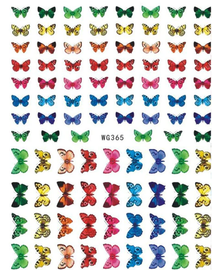 Butterfly Decals - WG365