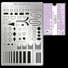 Moyra Cuts 2 Stamping Plate No.89