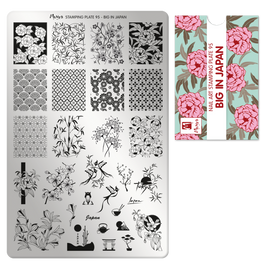Moyra Big in Japan Stamping Plate No.95