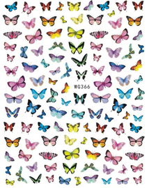 Butterfly decals-WG366
