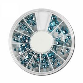 Blue Rhinestone Wheel