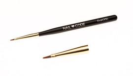 Nail Code Oval Brush (Small)
