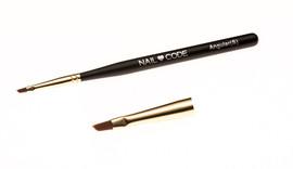 Nail Code Angular Brush (small)