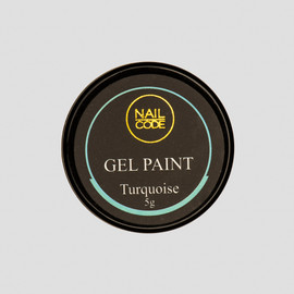 Nail Code Gel Paints - Turquoise
