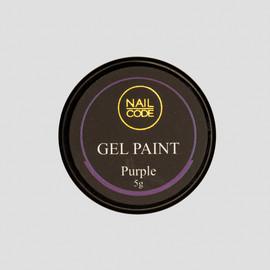 Nail Code Gel Paints - Purple