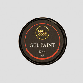 Nail Code Gel Paints - Red