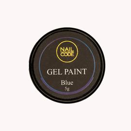 Nail Code Gel Paints - Blue