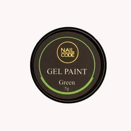 Nail Code Gel Paints - Green