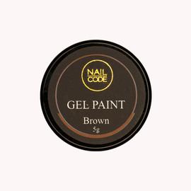 Nail Code Gel Paints -  Brown