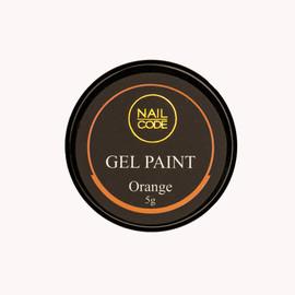 Nail Code Gel Paints -  Orange