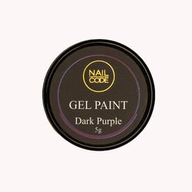Nail Code Gel Paints -  Dark Purple