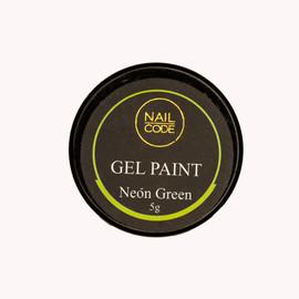 Nail Code Gel Paints -  Neon Green
