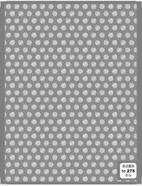 White Polka dot Decals - T275