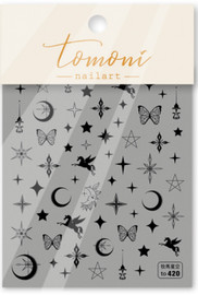 Moons & Stars (Black) - T420