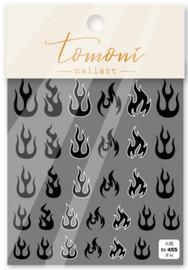 Flames(Black) - T455