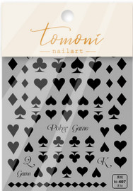 Poker Game Decals - T407