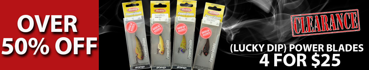 Berkley Power Blade Lures For Sale