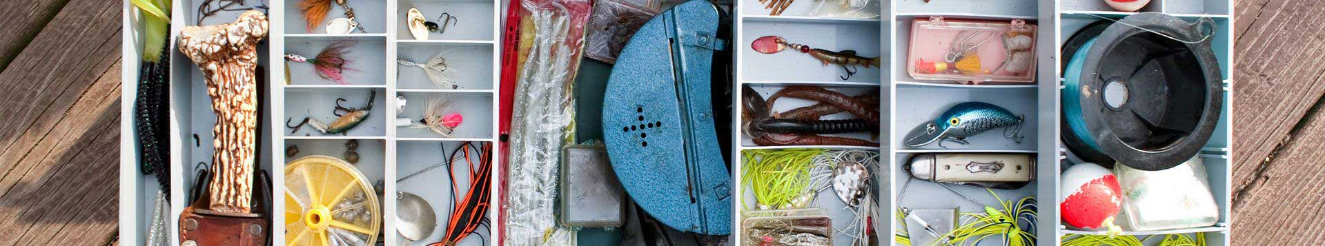 Tackle Boxes & Tackle Storage