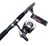 Teloscopic Fishing Rod & Reel Combo's