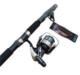 Teloscopic Fishing Rod & Reel Combo's