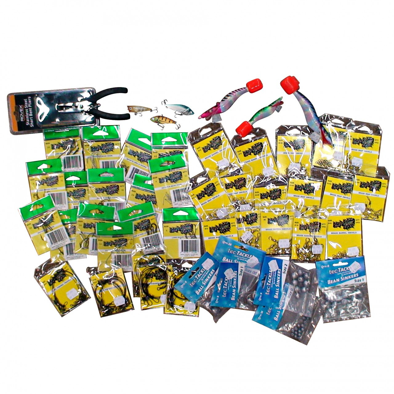 Standard mixed fishing tackle value pack medium ebay for Ebay fishing gear