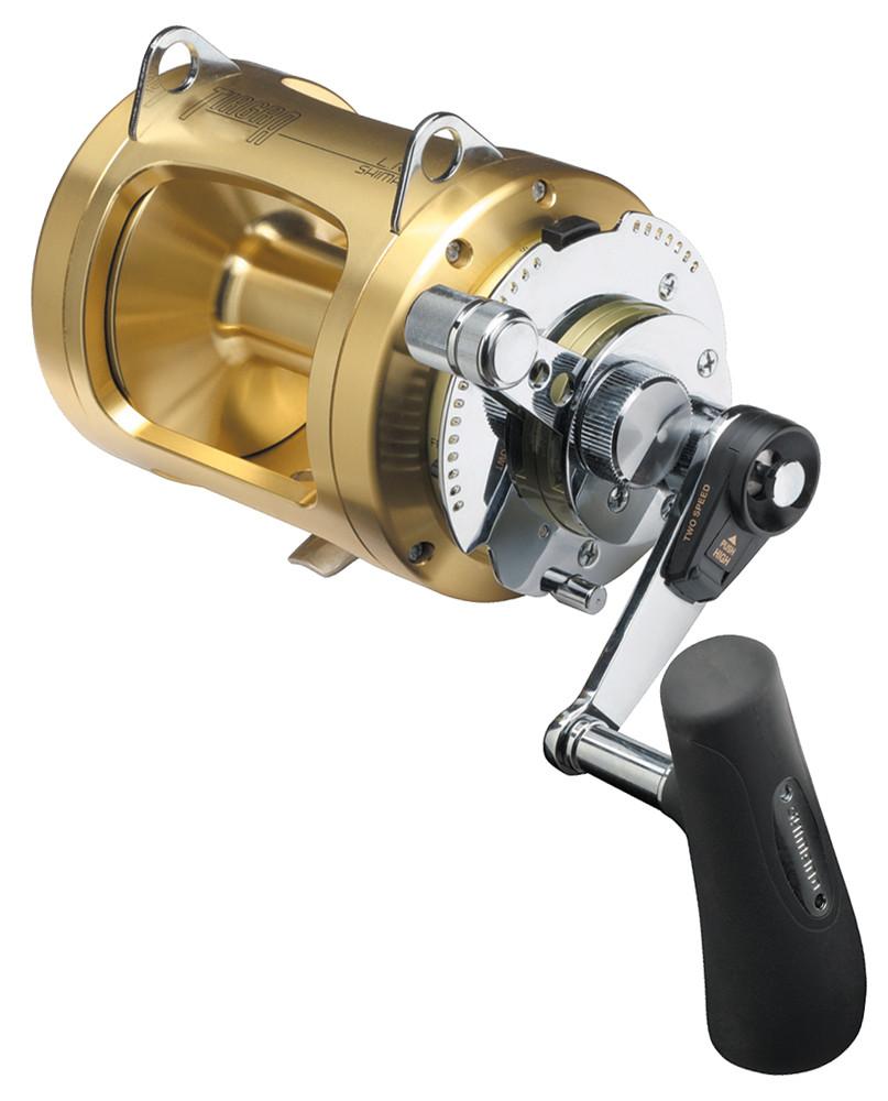Shimano tiagra fishing reel 30 wlrsa 2 speed game reel for Reel fishing game