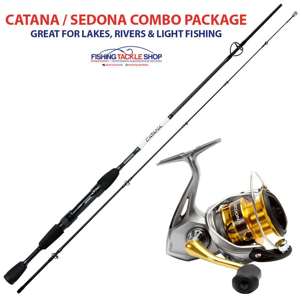 Shimano fishing rod 7 foot catana with shimano sedona reel for Good fishing pole brands