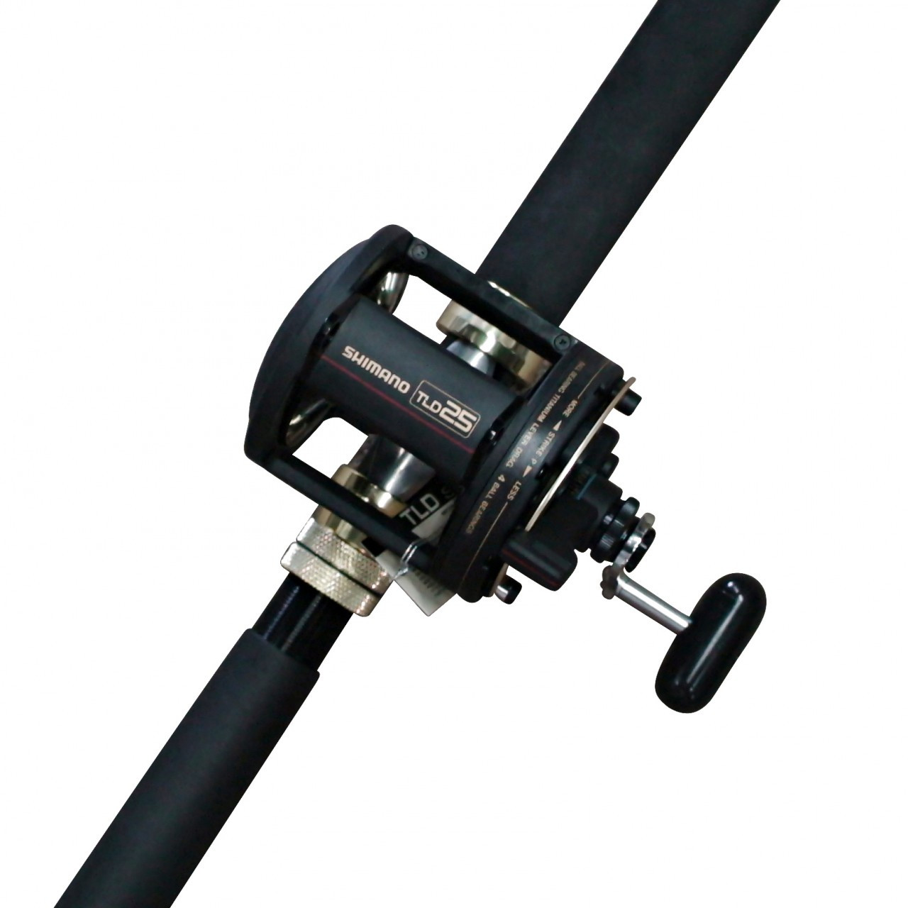 Shimano tld 25 fishing reel with shimano 15kg backbone rod for Ebay fishing reels shimano