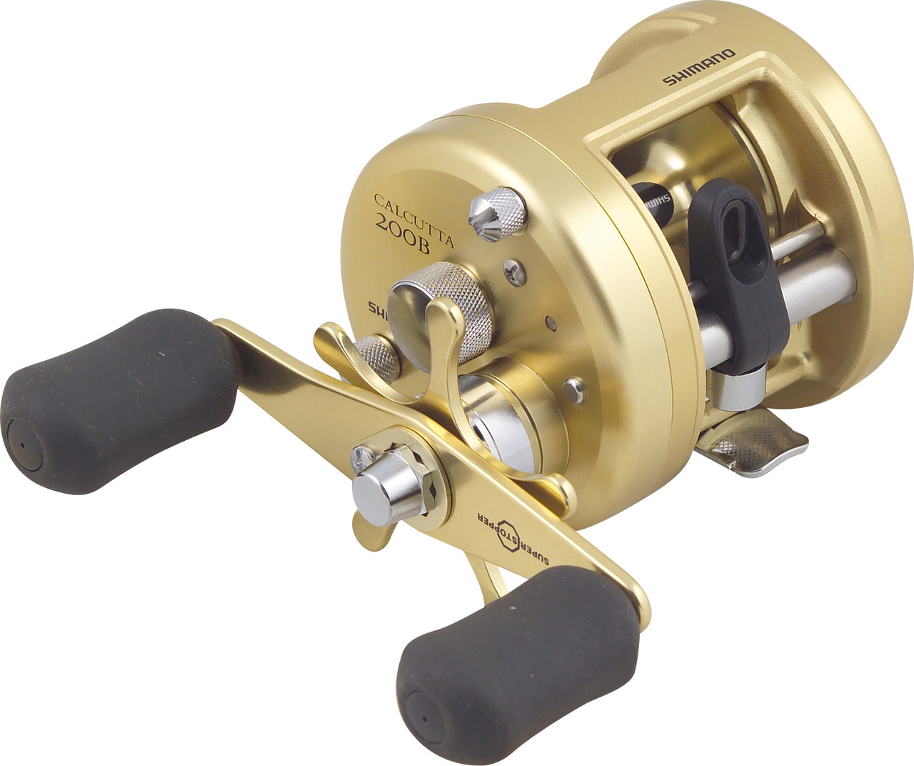 Shimano calcutta ct 200b baitcaster fishing reel fishing for How to reel in a fish