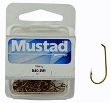 Mustad 540 Hook Model - Viking Box of fishing hooks (25pcs)