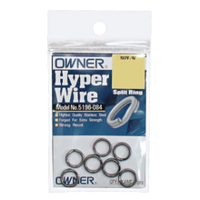 Owner Hyper Wire Split Rings Packet