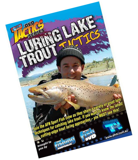 AFN Luring Lake Trout Tactics Fishing DVD