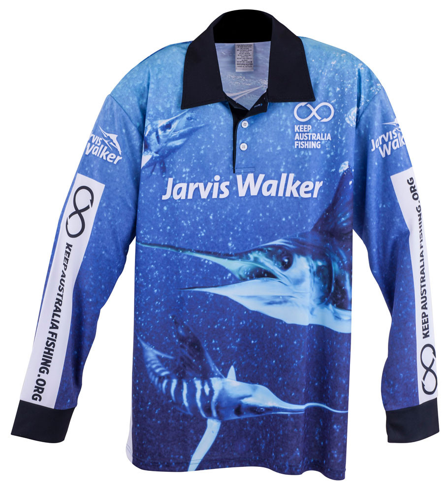 Jarvis walker fishing apparel for sale marlin shirt for Tournament fishing shirts